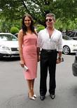 Lauren Silverman and Simon Cowell