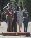 Guards, King Felipe Of Spain and Queen Letizia Of Spain