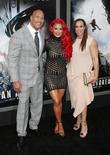 Wayne 'the Rock' Johnson, Danny Garcia and Eva Marie