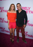 Stacey Solomon and Steve-O