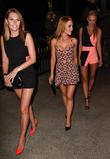 Stephanie Waring, Rhian Sugden and Jude Cisse