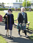 Susan Boyle and Provost Tom Kerr