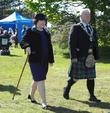 Susan Boyle and West Lothian Provost Tom Kerr