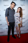 Nick Simmons and Sophie Simmons
