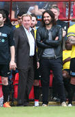 Harry Redknapp and Russell Brand
