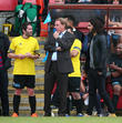 George Gilbey, Harry Redknapp and Russell Brand