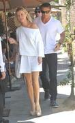 Joanna Krupa and Romain Zago
