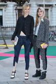 Edie Campbell and Christabel Macgreevy