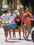 Tommy Mallett, James Locke, Dan Edgar and Jake Hall
