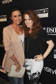 Amy Davidson and Lacey Chabert