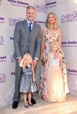 Eric Dane, Butterfly Ball Co-chair Rebecca Gayheart-dane, Daughter Georgia Dane and Daughter Billie Beatrice Dane