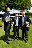 James Taylor, Eoin Morgan and Stuart Broad