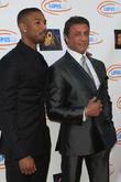 Michael B Jordan and Sylvester Stallone