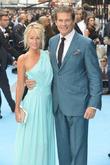 Hayley Roberts and David Hasselhoff