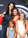 Angie Harmon and Kids
