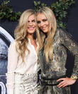 Karin Kildow and Lindsey Vonn