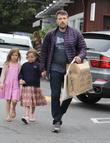 Jennifer Garner, Ben Affleck and Seraphina Affleck