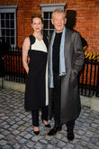 Sir Ian McKellan and Laura Linney