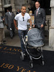 Theo Walcott and Baby Finley