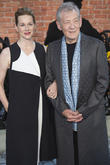 Laura Linney and Ian McKellen