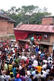 Nepal Festival Weeks After and Earthquake