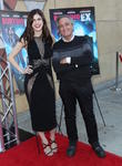 Alexandra Daddario and Joe Dante