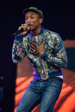 Pharrell Williams Teaches Music Masterclass At Nyu