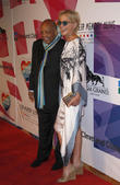 Sharon Stone and Quincy Jones