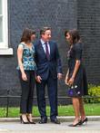 Michelle Obama, David Cameron and Samantha Cameron