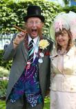 John Mccririck and Jenny Mccririck