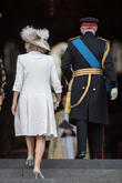 The Duchess of Cornwall, The Prince of Wales and Prince Charles