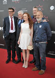 Jake Gavin, Natalie Gavin, Stephen Tomkinson and Keith Allen