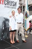 Edie Falco and Daniel M. Ashe