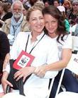 Edie Falco and Kristin Davis