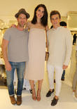 Nate Berkus, Hilary Rhoda and Jeremiah Brent
