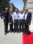Steve Burke, Larry Kurzweil, Tom Williams, Ron Meyer and Mark Woodbury