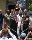 Tyrese Gibson, Larry Kurzweil, Michelle Rodriguez, Vin Diesel and Jason Statham