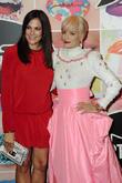 Lily Allen and Bettina Zimmermann