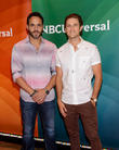 Daniel Sunjata and Aaron Tveit