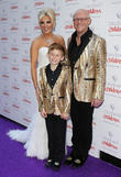 Claire Caudwell, John Caudwell and Jacobi Caudwell