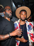 Mark Pitts and Usher