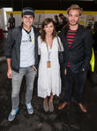 Nelson Piquet Jr., Natlie Imbruglia and Ed Westwick