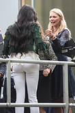 Naomi Campbell and Jodie Kidd