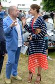 Sir Jonathan Ive and Yasmin Le Bon