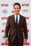 Paul Rudd and Guest at Hollywood and Disney