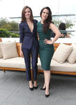 Italia Ricci and Emily Hampshire