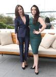 Italia Ricci and Emily Hampshire