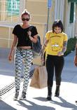 Miley Cyrus and Lauren Winzer