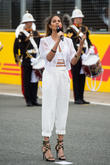 Alesha Dixon Mocked For Her Version Of The British National Anthem