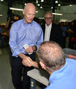 Rick Scott and Aerospace Ceo Pierre Pinsonnautt